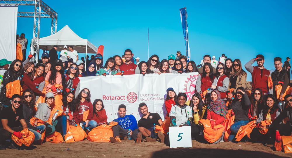 Les bénévoles de Rotaract