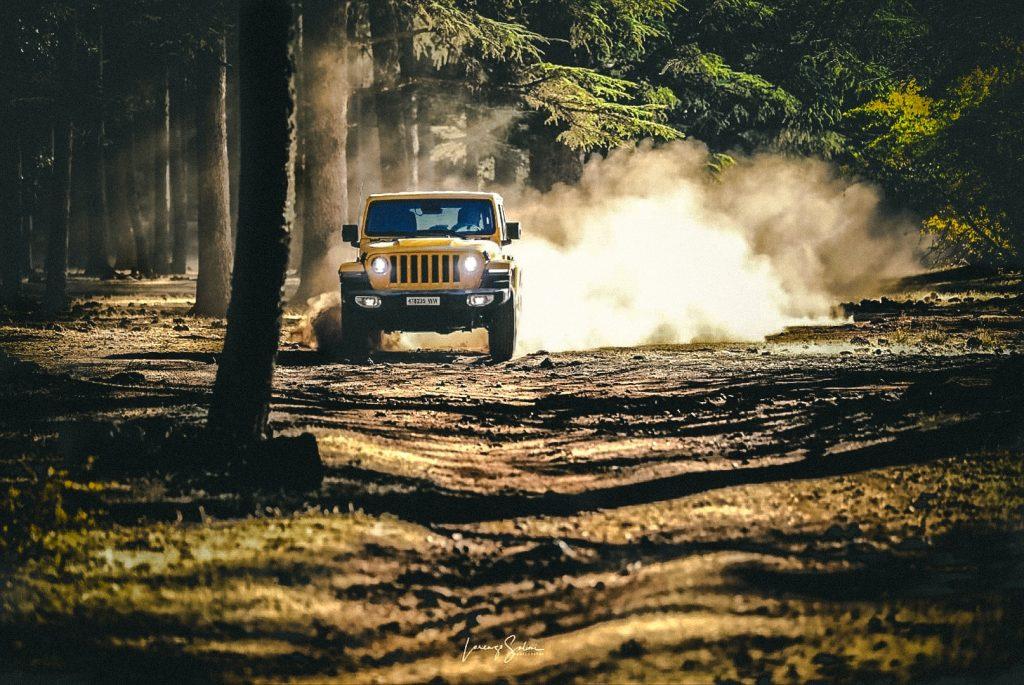 the new Jeep Wrangler JL